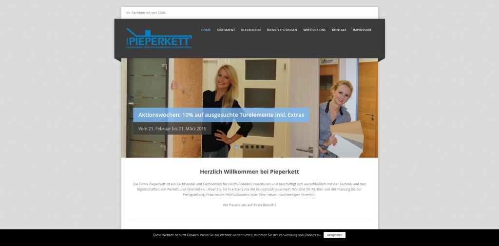 Pieperkett - Fachhandel für Holzfußböden und Innentüren