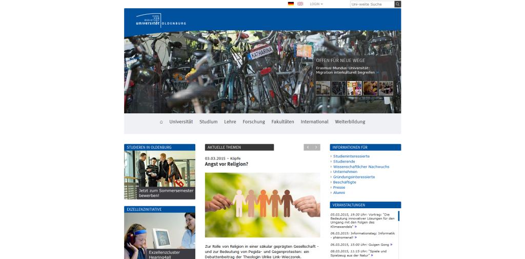 Startseite - Universität Oldenburg — Uni Oldenburg