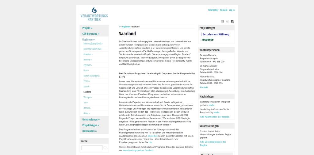 Verantwortungspartner - Saarland